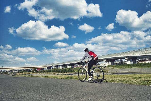 自転車通勤 汗